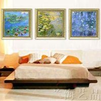装饰画有框7070批发多款高档豪华酒店客房欧式现代42款花卉绘风景