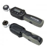 芜湖数显扭力扳手wiztank 可换活动头 台湾进口电子数显扭力扳手高精度预置可调扭力液晶屏显示数字