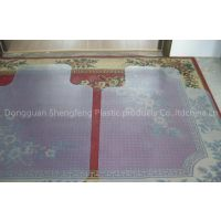 Clear PVC Office Chair Mat with Lip for carpet
