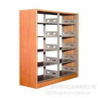 供应上海木护板书架,上海单面书架,上海双面书架