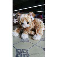 厂家批发/定制毛绒玩具 可爱小黄猫毛绒公仔 2015毛绒玩具 小猫娃娃