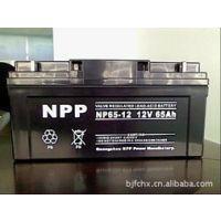 耐普蓄电池12V65AH厂家直销NPP12-65AH/ UPS/EPS
