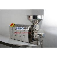 HAO/哈欧3KW食品五谷高速万能磨粉机五谷养生30-80kg/h深圳磨粉机厂家