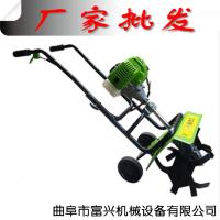 汽油微型翻土机 汽油小型旋耕机 富兴旋耕除草机
