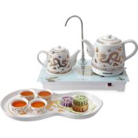 康佳陶瓷电热水壶自动上水壶烧水壶茶具煮茶器 高档商务礼品套装定制