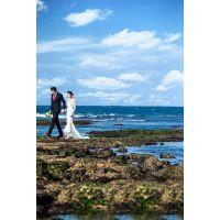 来北海拍婚纱照就薇薇新娘,体验不一样婚纱旅程