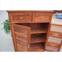 红木古典家具中式仿古红木鞋柜实木