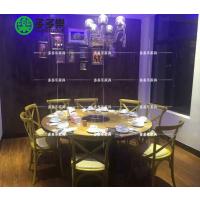 火锅店主题火锅桌 主题餐厅时尚餐桌 多多乐家具定制现代家具