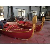 木船 手划木船 婚纱摄影船 景区观光船 两头尖木船 欧式贡多拉木船