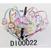 供应迪士尼    玛丽猫  精美头扣  儿童发饰DI00022