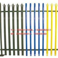 厂家专业生产D型欧式护栏W型尖庄围墙铁艺护栏热镀锌钢板栅栏