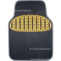 厂家直销 防滑卡通汽车pvc通用脚垫 汽车脚垫  汽车乳胶安全脚垫