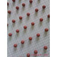 台湾进口无合模线水磨橡胶球8MM 耐高温耐腐蚀密封性强