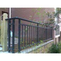 供应安平锌钢小区护栏 别墅围墙 小区防护栏