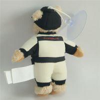 定做精品创意毛绒玩具小宝马熊公仔带吸盘公仔 节日促销礼品