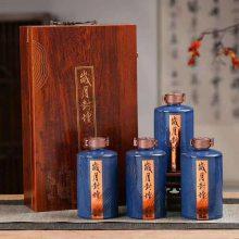 四大名著酒瓶批发 一斤装梅兰竹菊瓶子价格 建源陶瓷酒瓶酒罐厂家