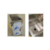 科来创供应gzkc-xsc-1型不带镜单人位医用不锈钢洗手盆 洗手池 水槽 承接各类钣金件加工