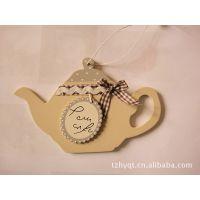 供应木制茶艺工艺品挂件,木制茶杯茶壶,木制工艺品,木质挂件
