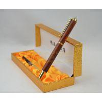 老挝红酸枝木质工艺钢笔 创意礼品精美签名笔 书写工具 送礼佳品