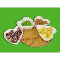 陶瓷零食果盘 坚果 干果盘个性糖果盒创意   果篮居家用品