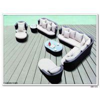户外沙发 藤沙发组合 庭院会所休闲藤椅阳台咖啡客厅藤编沙发家具