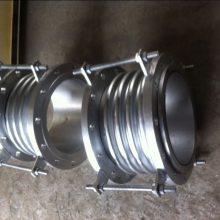 供应大口径全不锈钢波纹补偿器,带限位装置不锈钢膨胀节,DN400衬四氟补偿器