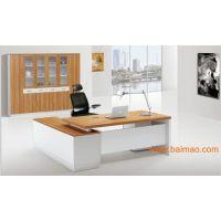 厂家供应各种大班桌(板式和钢架班台)