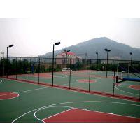 昆山硅PU篮球场