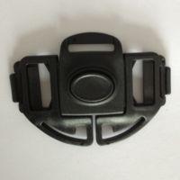 中山童车扣件织带卡扣背带锁扣塑料插扣XY-A536