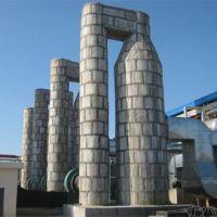 销售泰安中鲁环保高效麻石脱硫塔脱硫除尘达标,麻石除尘器,布袋除尘器,钢制水膜除尘器
