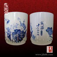 景德镇唐龙陶瓷笔筒厂家,定制批发笔筒