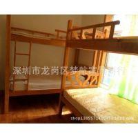 供应实木家具 广州现代青年旅馆实木家具 稳固结实木床