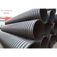 的PE钢带增强螺旋波纹管生产厂家在哪里?就在山东金纬管业
