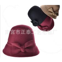 供应羊毛帽子  毛毡百搭时装帽 宽边礼帽