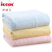 婴儿浴巾新生儿宝宝加大夏季超柔软竹纤维儿童毛巾被优于纯棉纱布