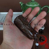 越南沉香木雕工艺品木质 百财招财白菜手把件 挂件饰品 文玩礼品