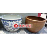 招财摆件大缸批发 建源陶瓷风水缸价格 定做陶瓷大缸厂家