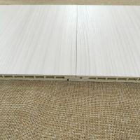 华仑观色出口定做高分子pvc发泡集成塑料板 环保快装墙面PVC竹木纤维护墙板