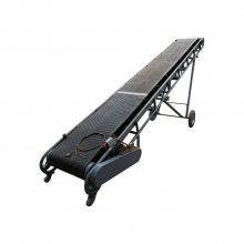 盖房砖块运输机 倾斜式爬坡皮带机 耐重耐磨输送机
