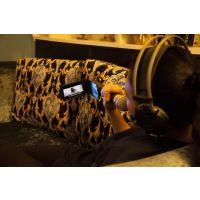 麦煲200W 拉杆音箱 可视麦克风 点歌机 接手机SD卡U盘播放 移动式卡拉OK 街头音箱