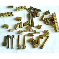 方形接线柱端子铜镀镍OEM非标精密小型五金连接件加工滚花滚丝杆