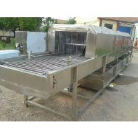 供应华邦HB-5500休闲食品洗筐机 鸡蛋筐清洗机