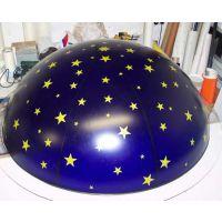 厂家定制亚克力半圆球罩/有机玻璃半圆球罩真空罩/亚加力大型半球