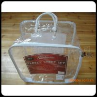 PVC透明塑料钢丝袋家纺包装袋