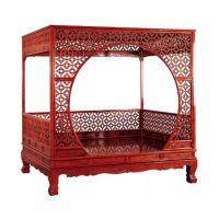 成都卧室家具实木双人床定制家庭装修酒店设计
