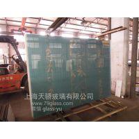 丝印玻璃/房间隔断/背景墙/电视墙钢化玻璃来样按图加工-上海天骄玻璃有限公司