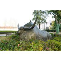 河北旺市铜牛|昌宝祥铜雕|广场摆放的旺市铜牛