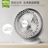 新品上市阿蓝德电风扇家用空调伴侣空气循环扇涡轮对流循环不摆头
