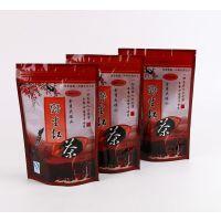 河北金衣包装定制供应红茶彩印复合自封自立拉链袋