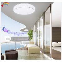 新款圆形LED吸顶灯 卧室厨房餐厅灯 过道卫生间照明灯饰灯具直销
